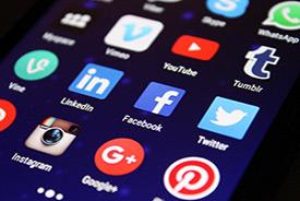 Redes sociales marketing servicio